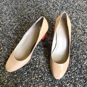 Kate Spade Greta Patent Colorblock Heels Size 10